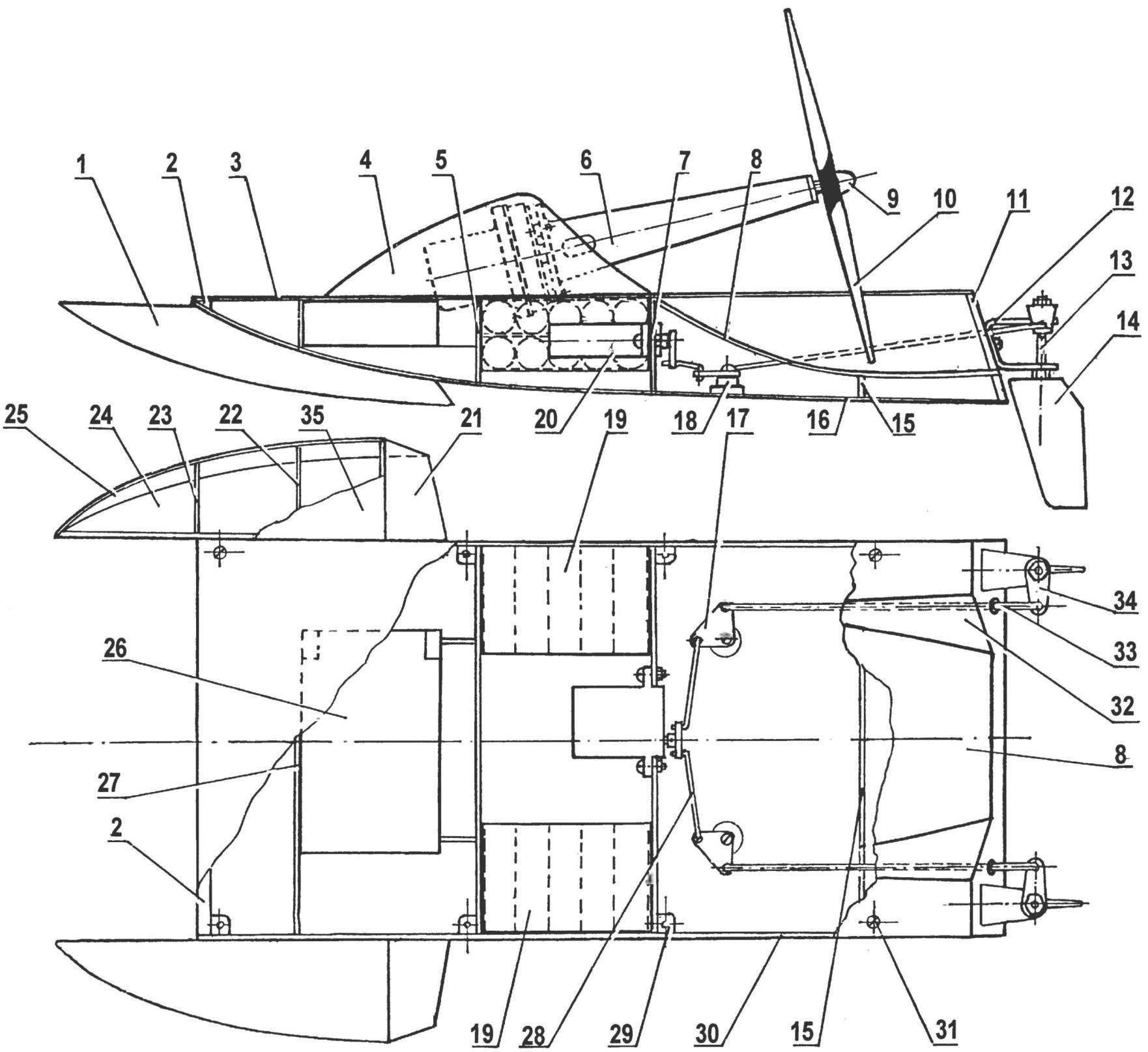 Как сделать аэролодку своими руками чертежи 23
