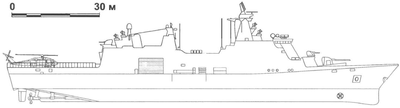 130. Многоцелевой десантный корабль «Абсалон», Дания, 2005 г.