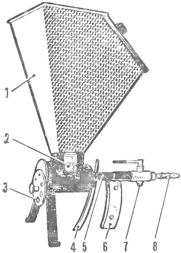 Рис. 2. Воронка-пистолет