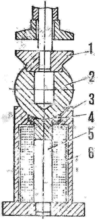 Рис. 3. Электромагнитные тиски