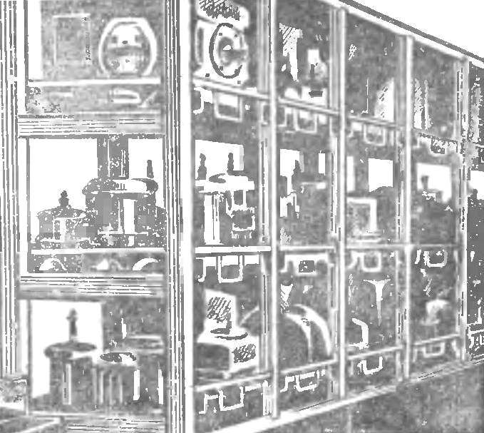Fig. 6. Rack molds
