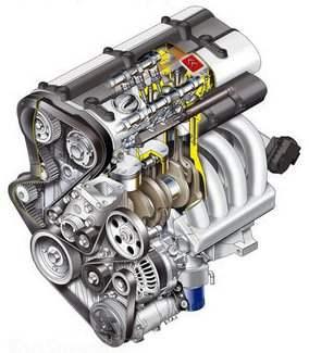 Два из восьми моторов, которыми оснащаются автомобили CITROEN С4: бензиновые 180-сильный (слева) и 138-сильный (справа)