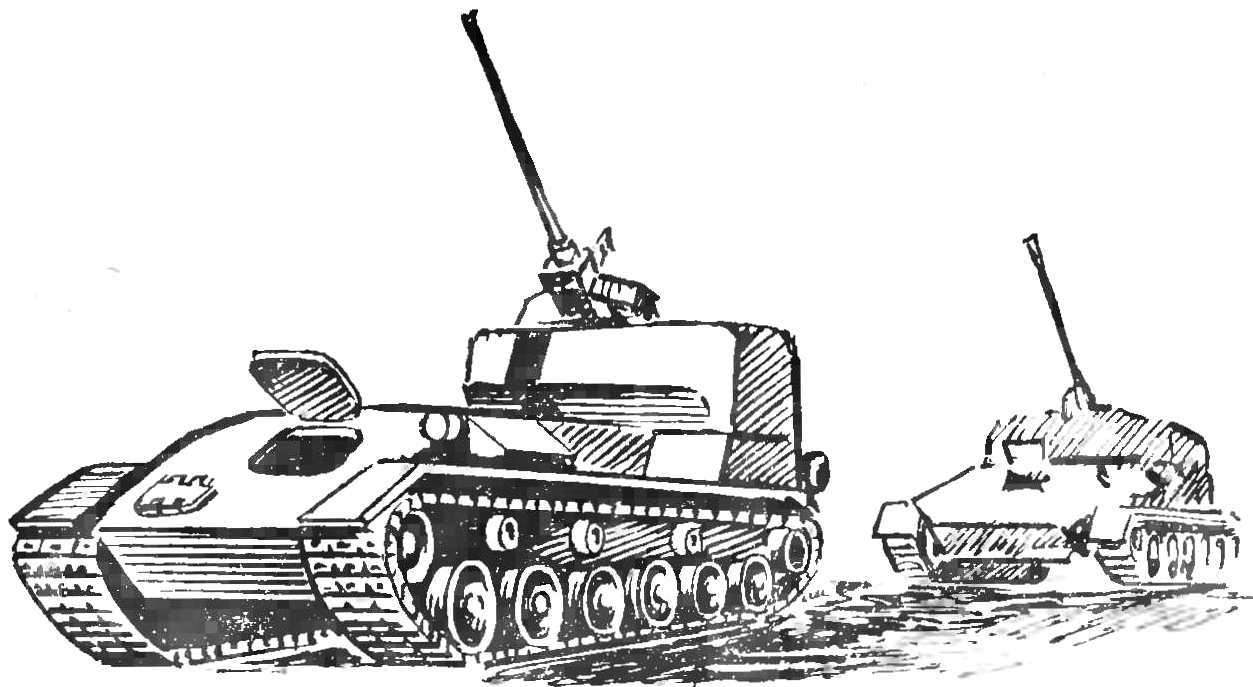 Fig. 5. Experienced anti-aircraft self-propelled ZSU-37.