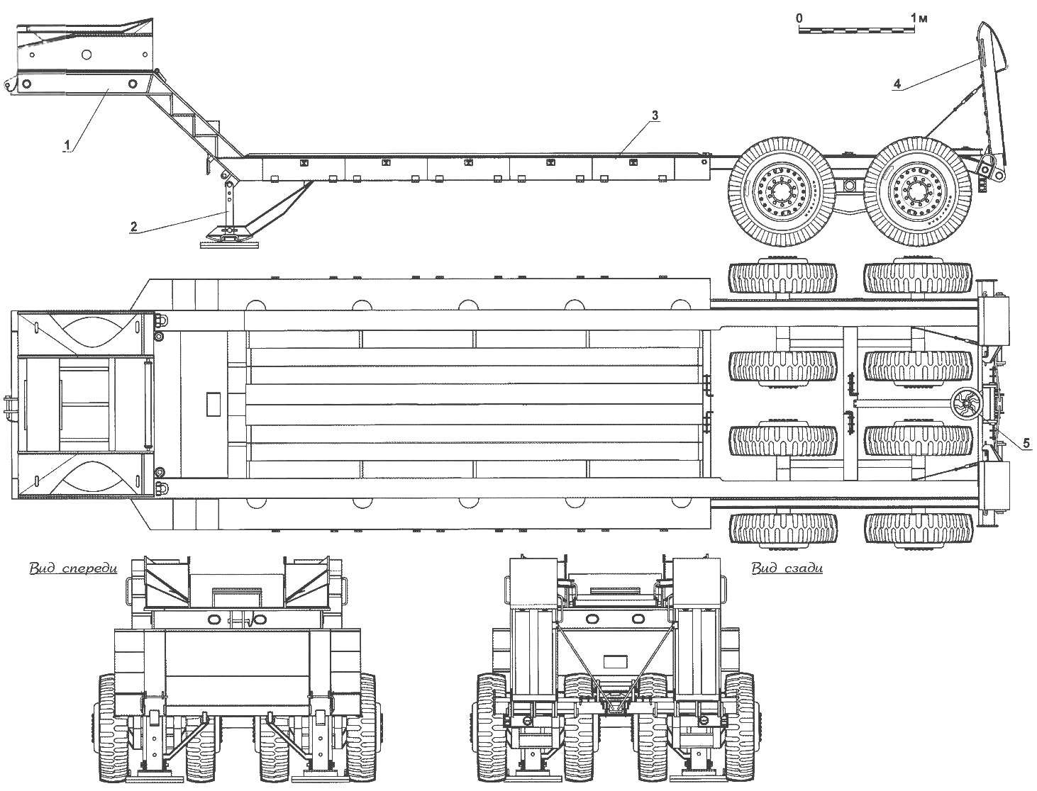 Semi-trailer-Transporter M15