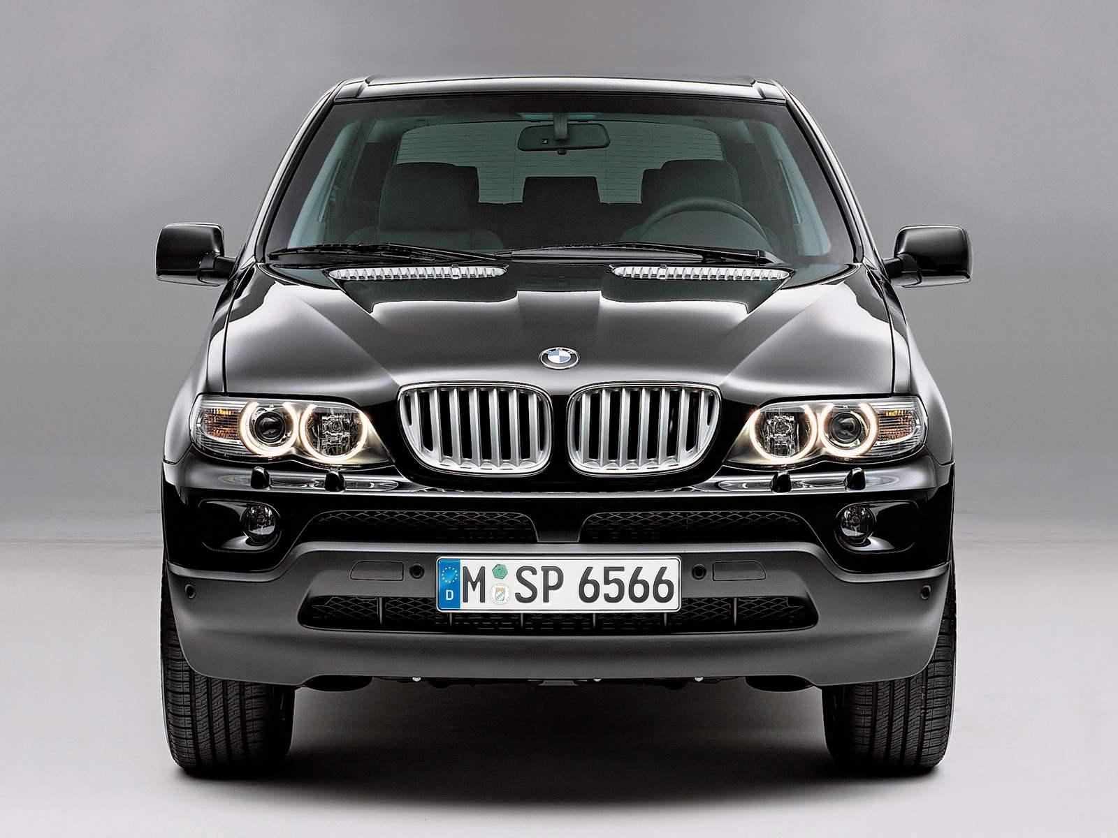 BMW X5: CAR-INTELLECTUAL