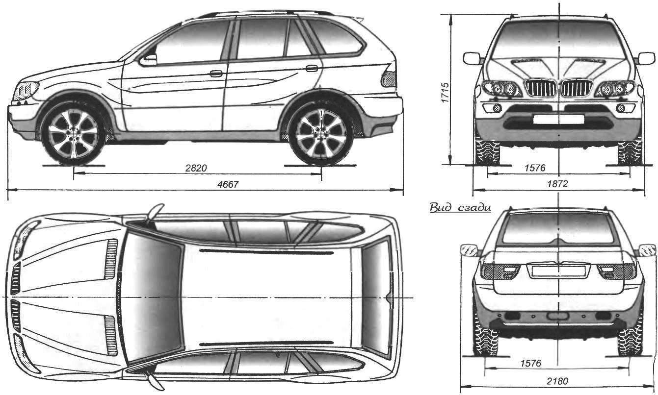 Geometry BMW X5