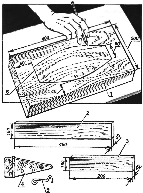 1. Единственная подготовительная операция для начала «производства» ажурных кирпичей — это изготовление формы.