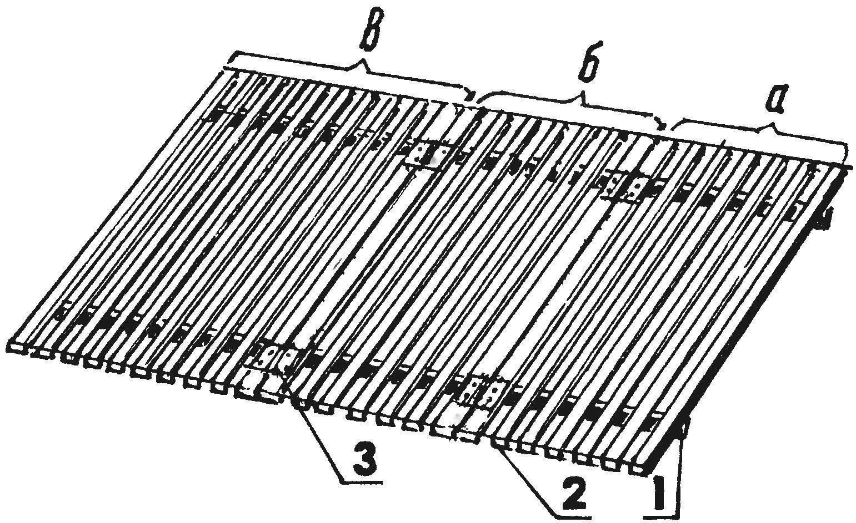 Slatted base, the sofa-bed