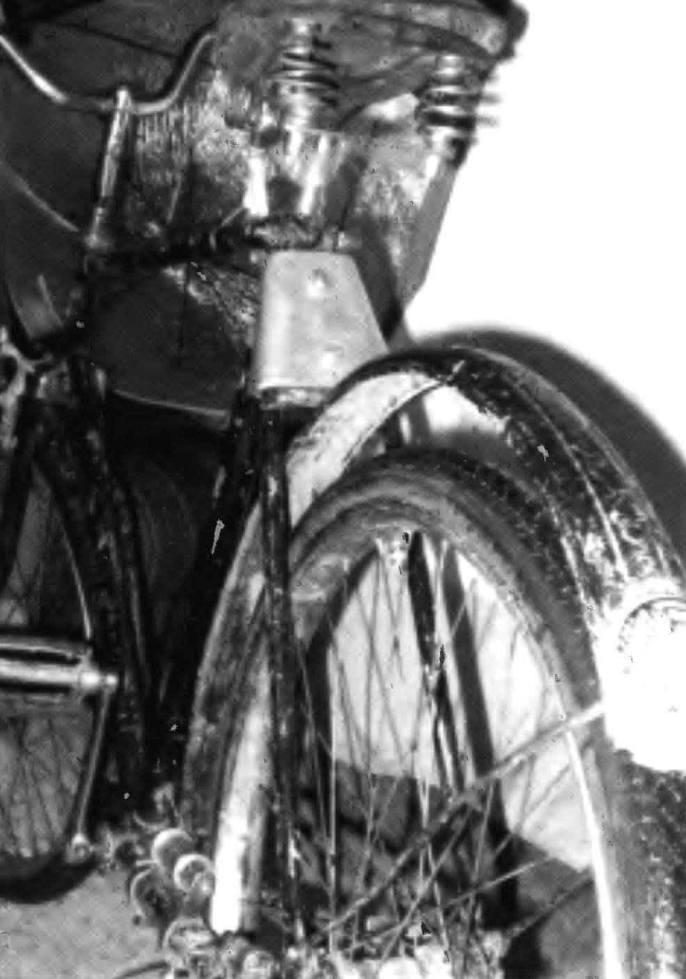 Велосипед после модернизации