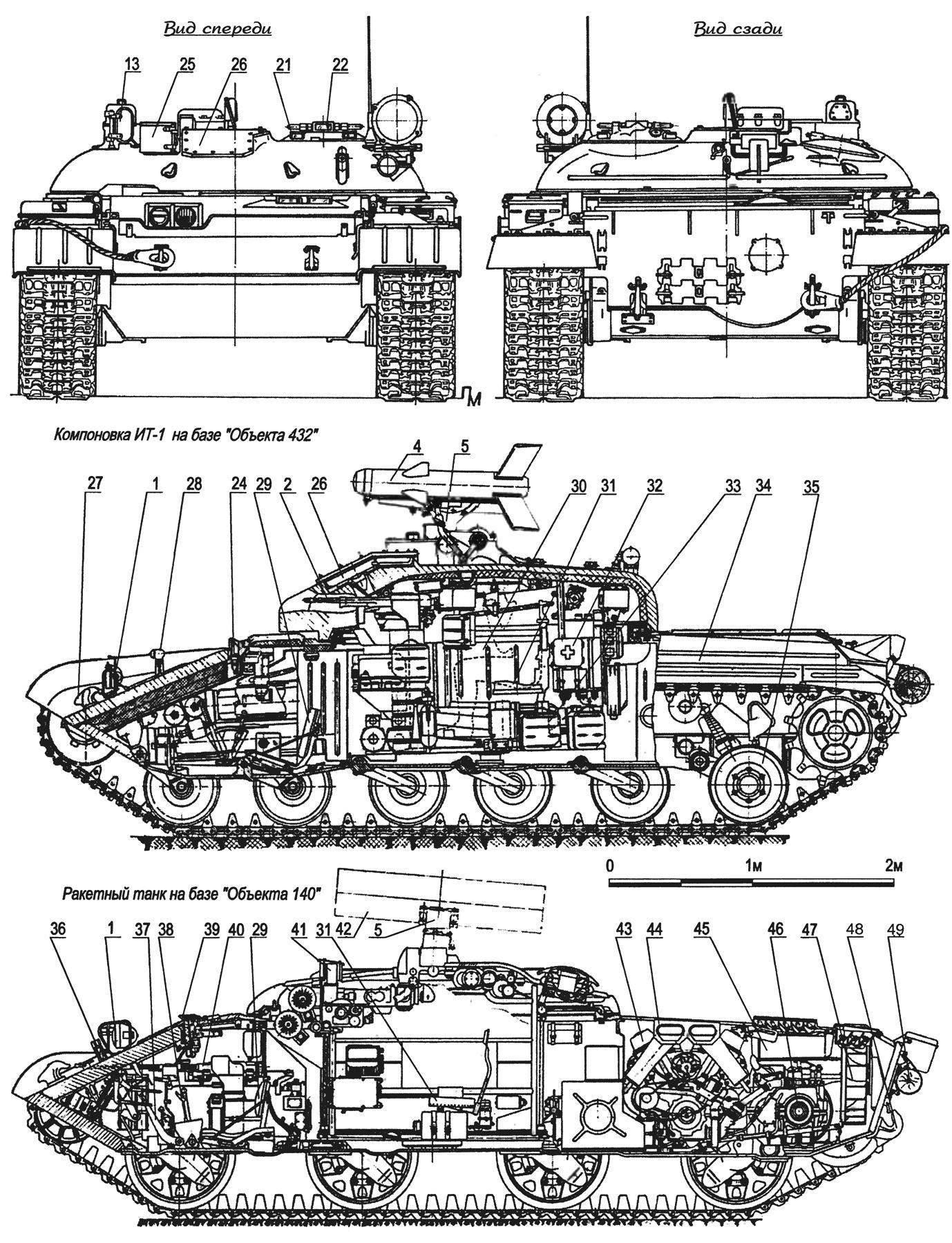 Рис. 1. Истребитель танков ИТ-1