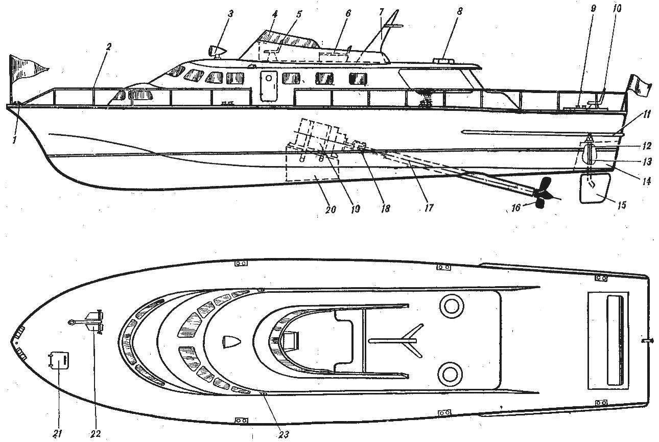 Речной катер