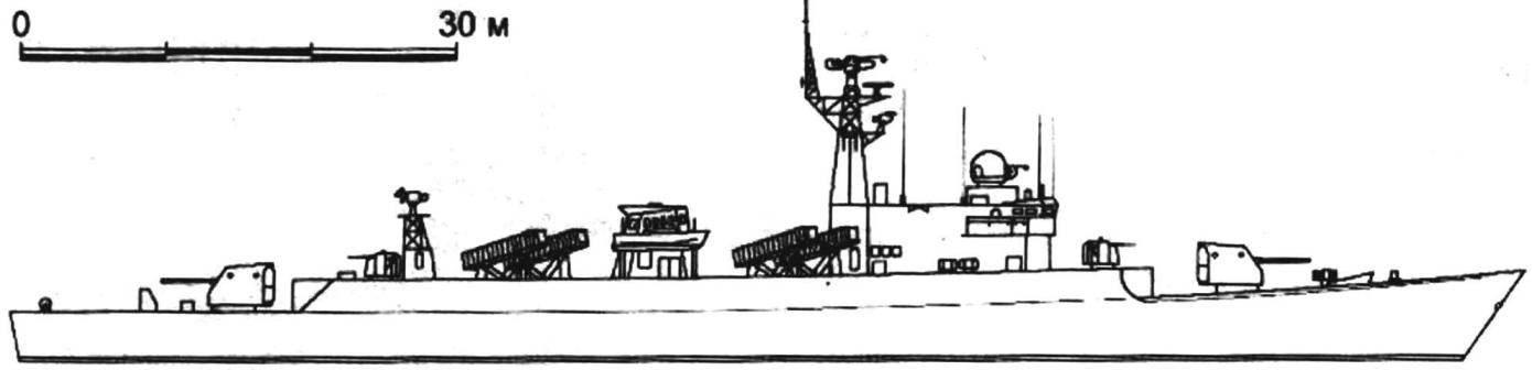 108. Фрегат «Хуанши» (проект 053НТ), Китай, 1986 г.