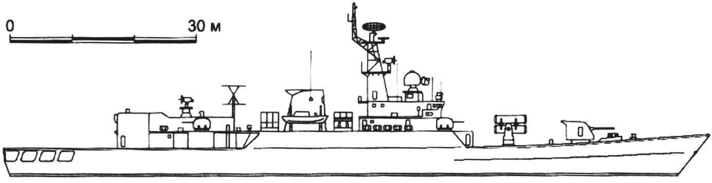 109. Фрегат «Аньцин» (проект 053H2G или 055), Китай, 1991 г.