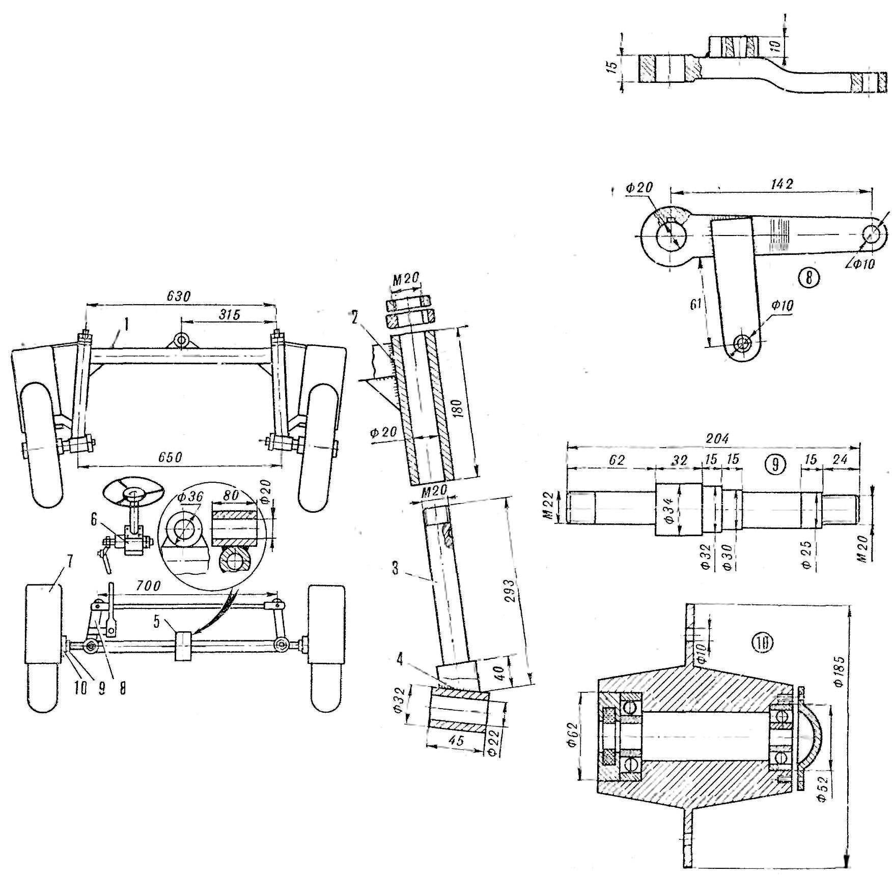 Fig. 4. Steering control scheme