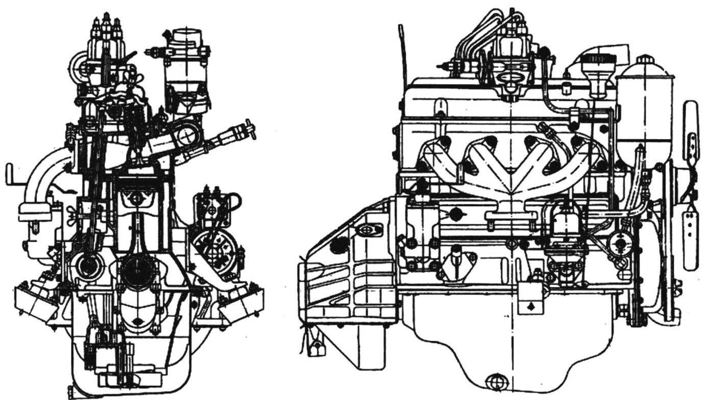 Двигатель типа 407-Д