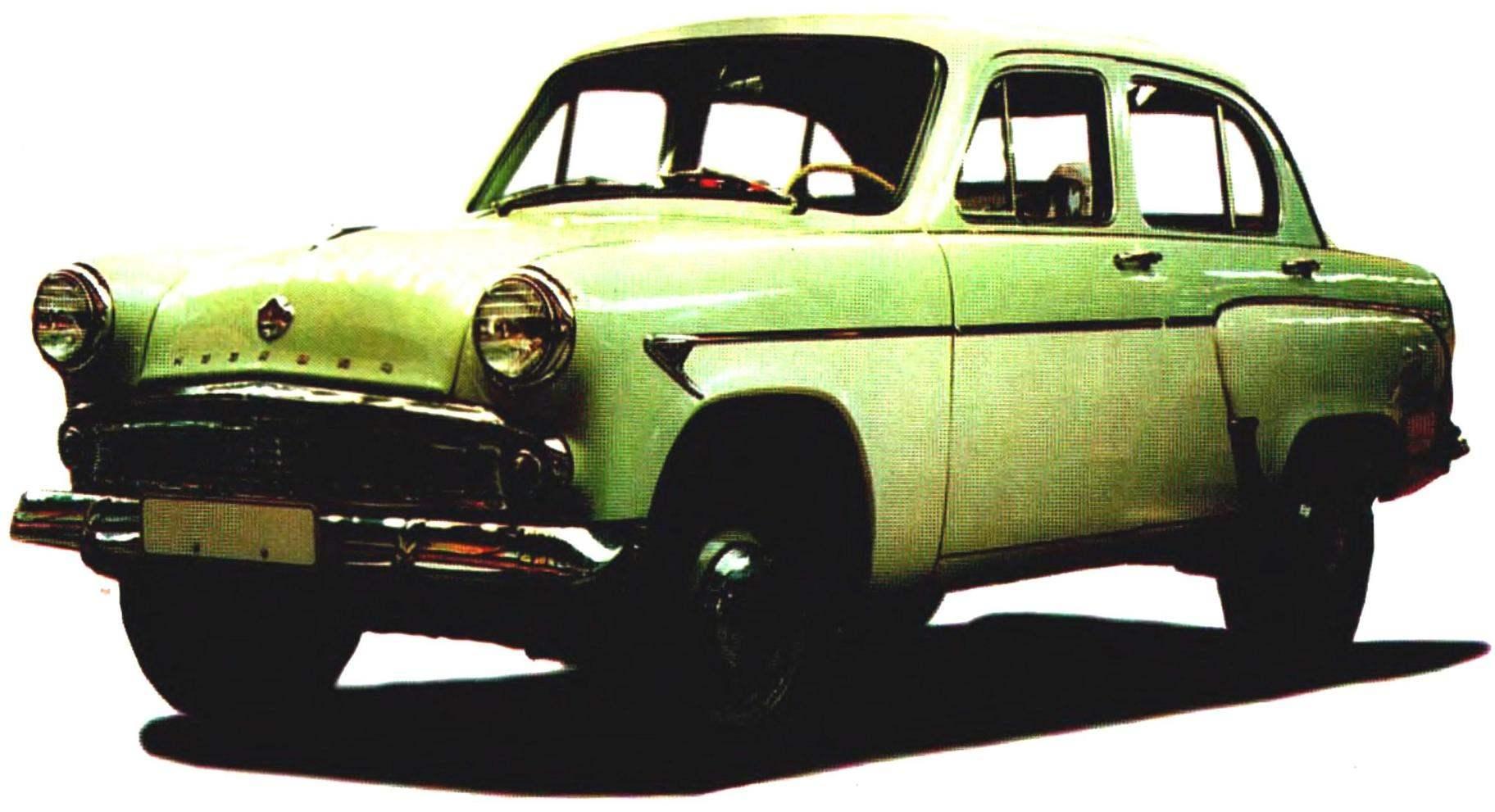 «МОСКВИЧ-407» в конце 1950-х годов был самым популярным автомобилем в Советском Союзе — неприхотливый, долговечный и, что немаловажно, ремонтопригодный