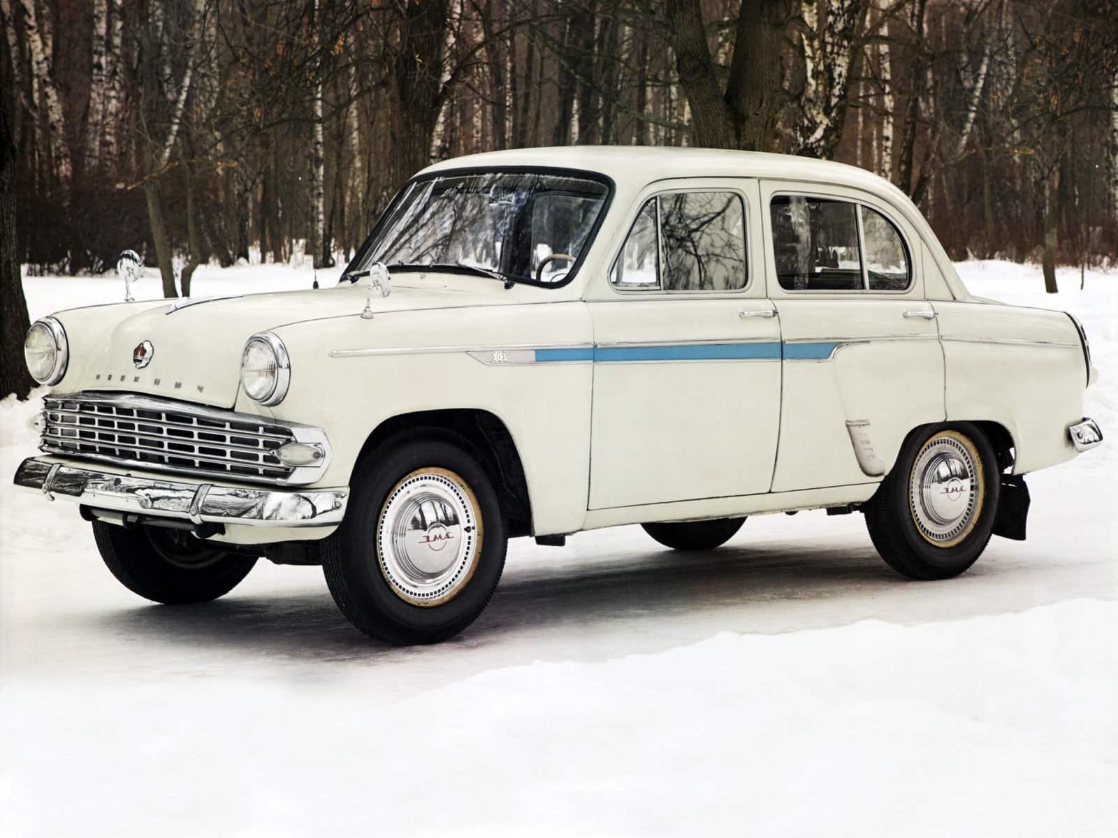 Экспортный вариант автомобиля МОСКВИЧ-403