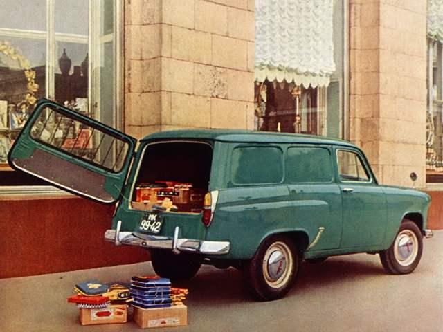 МОСКВИЧ-432 с кузовом типа фургон