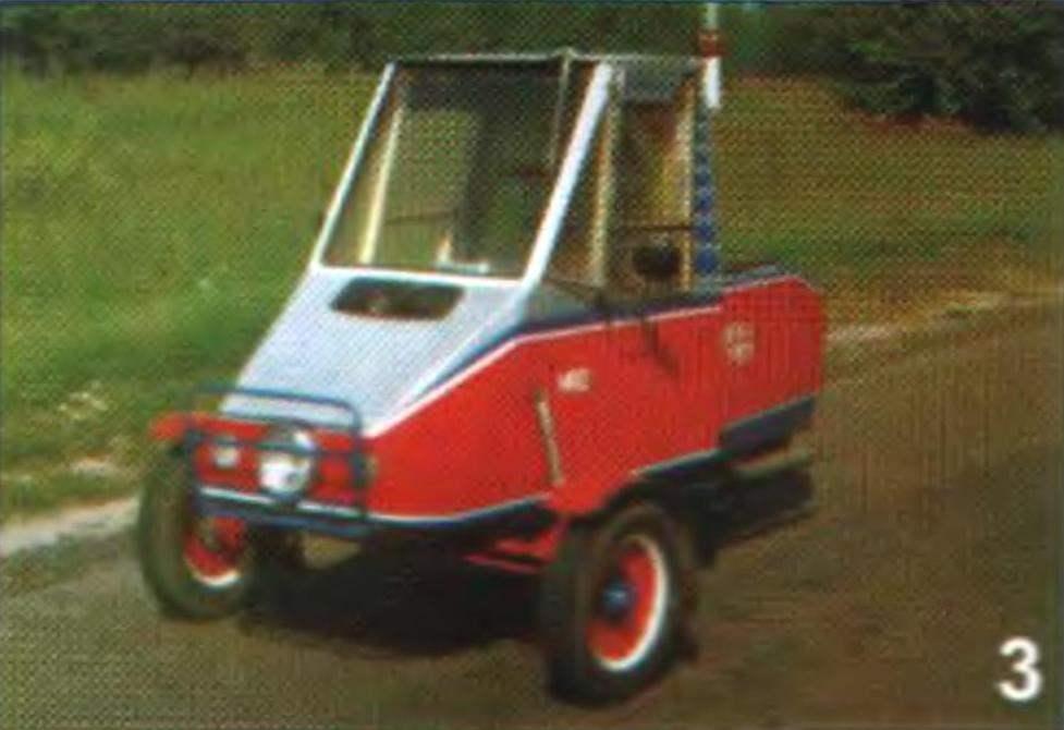 Фото 3. Трехколесный мотороллер с кабиной