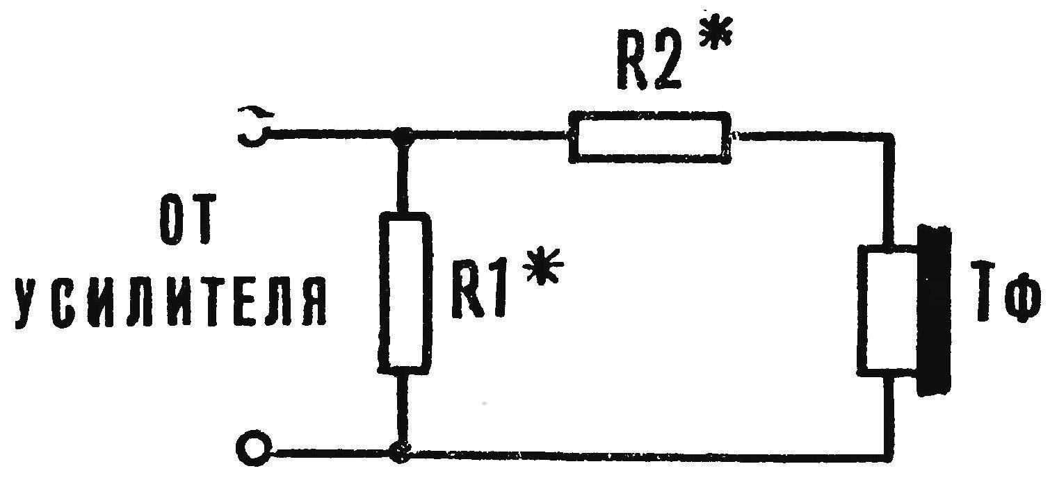 Рис. 5. Схема подключения телефонов.