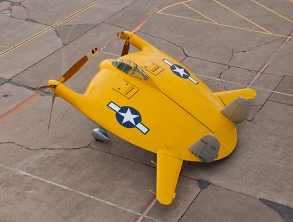 V-173 на стоянке