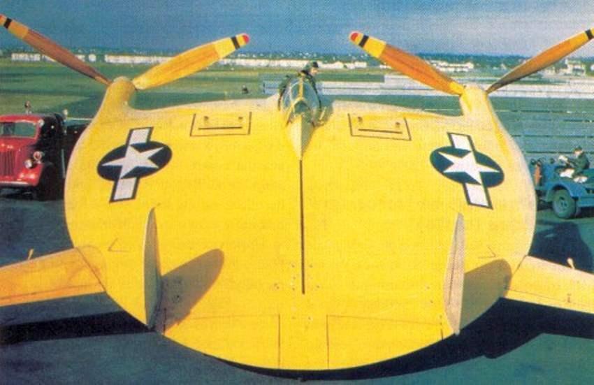 V-173 готовится к полету