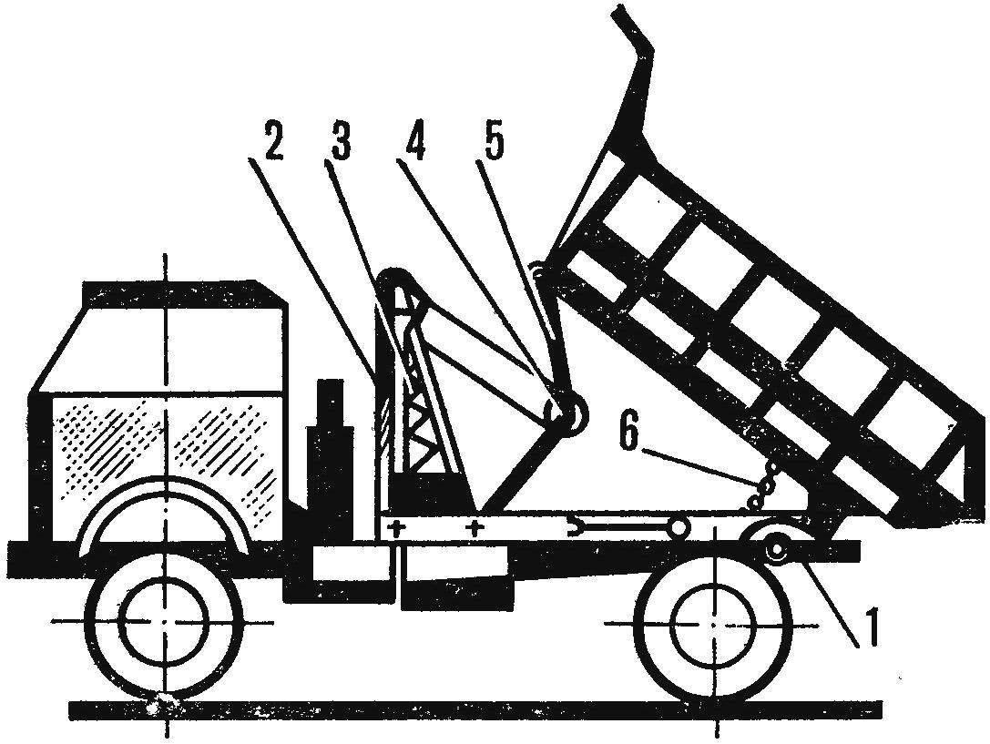 Рис. 2. Тросовый подъемник