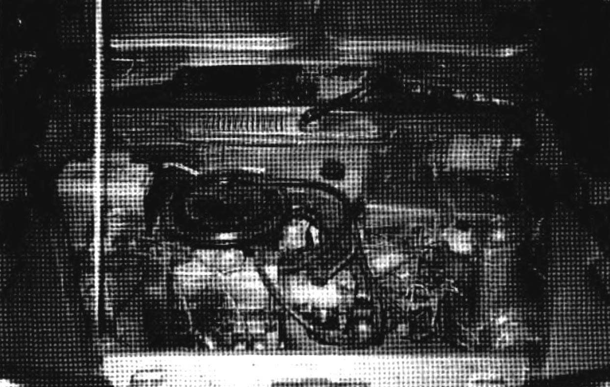 The power unit under the hood and suspension from the car