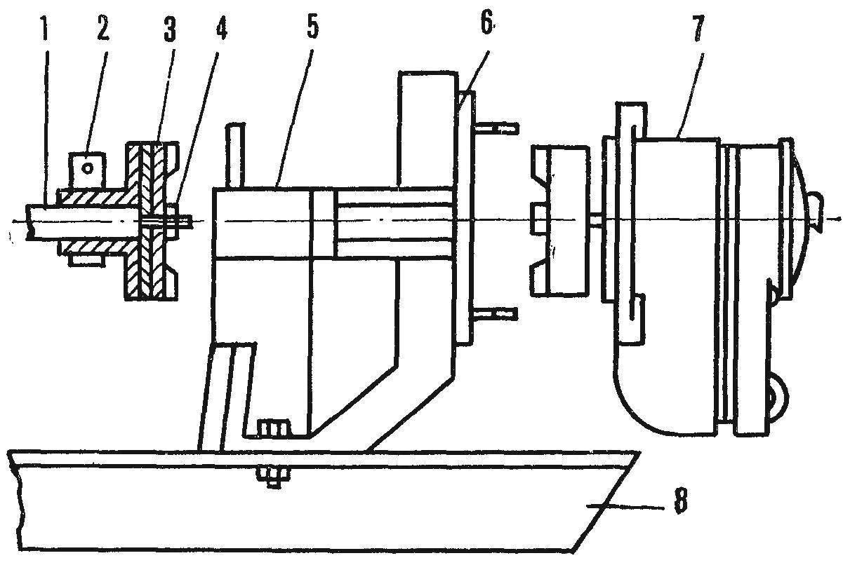 Fig. 4. The node setup of magneto