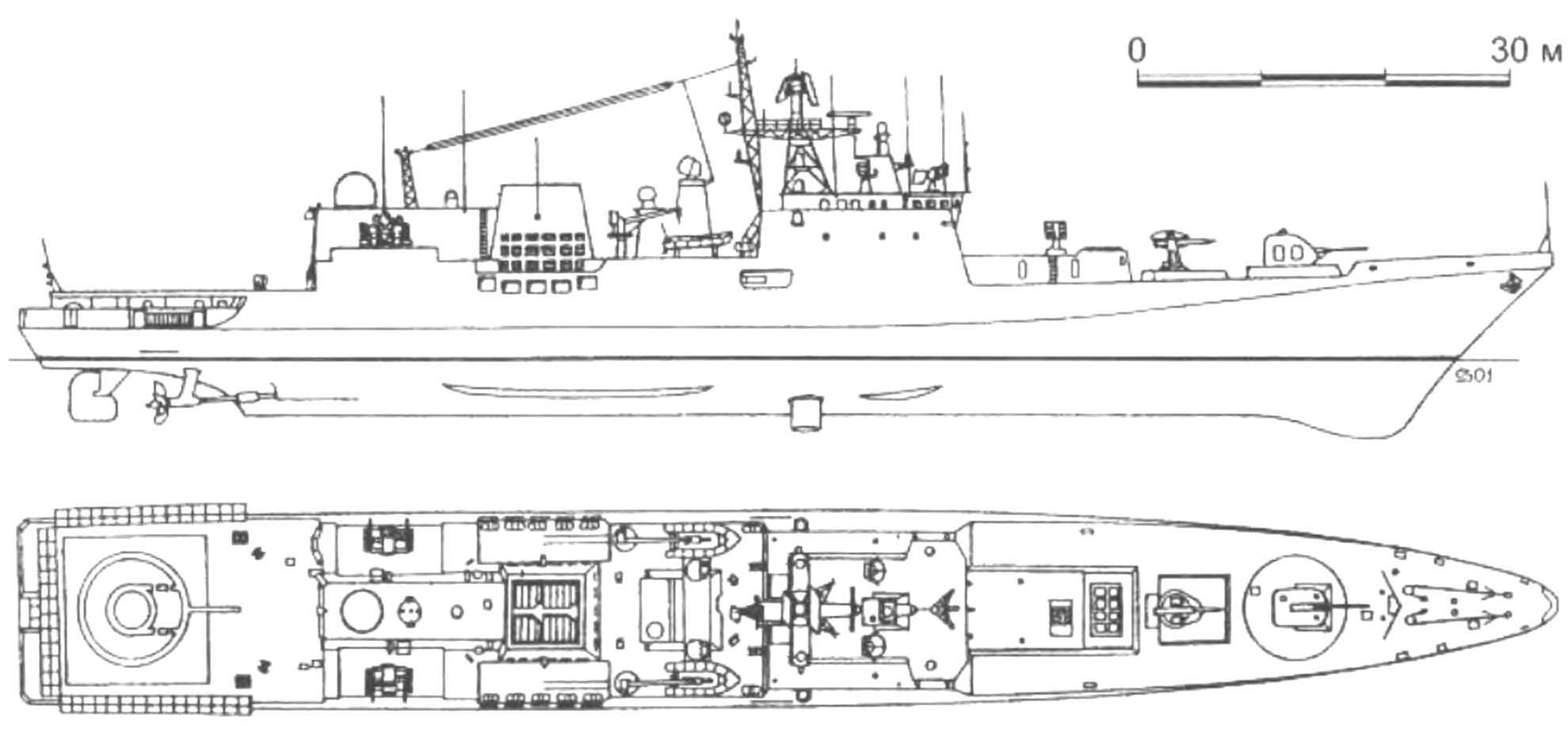 102. Фрегат «Тальвар» (проект 11356). Индия, 2003 г.