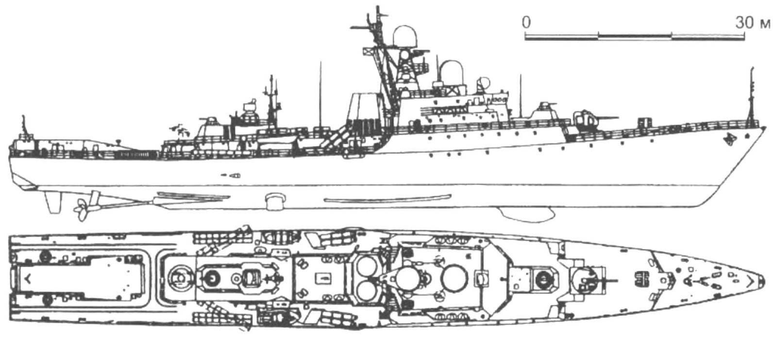 103. Сторожевой корабль «Татарстан» (проект 11661), Россия, 2003 г.