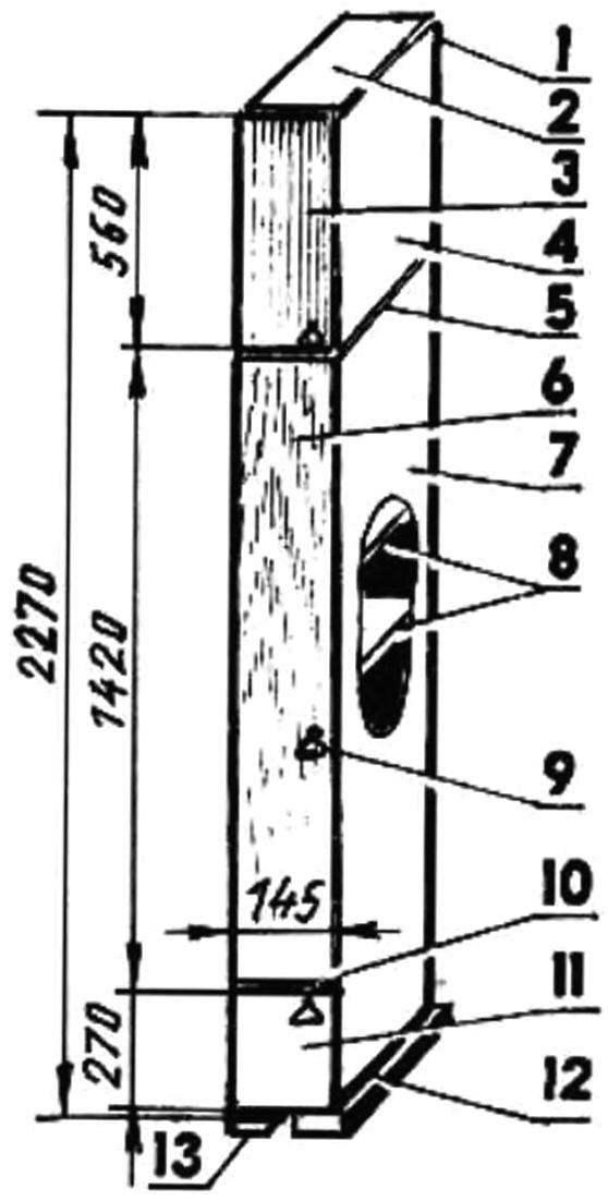 Рис. 6. Колонка