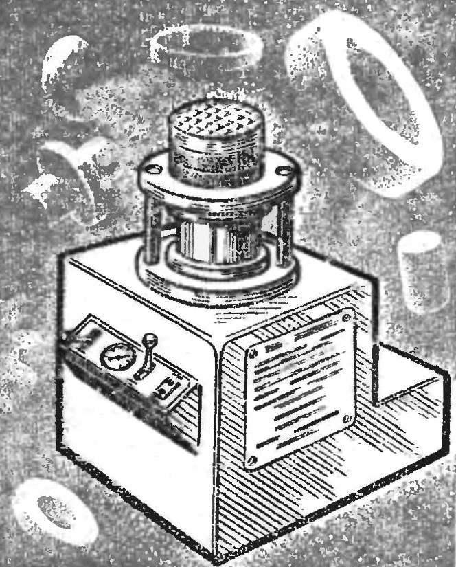 Рис. 3. Инерционный вибропресс-молот.