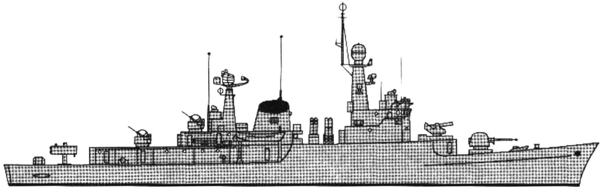 87. The frigate