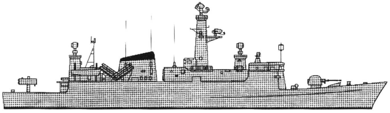 88. The frigate