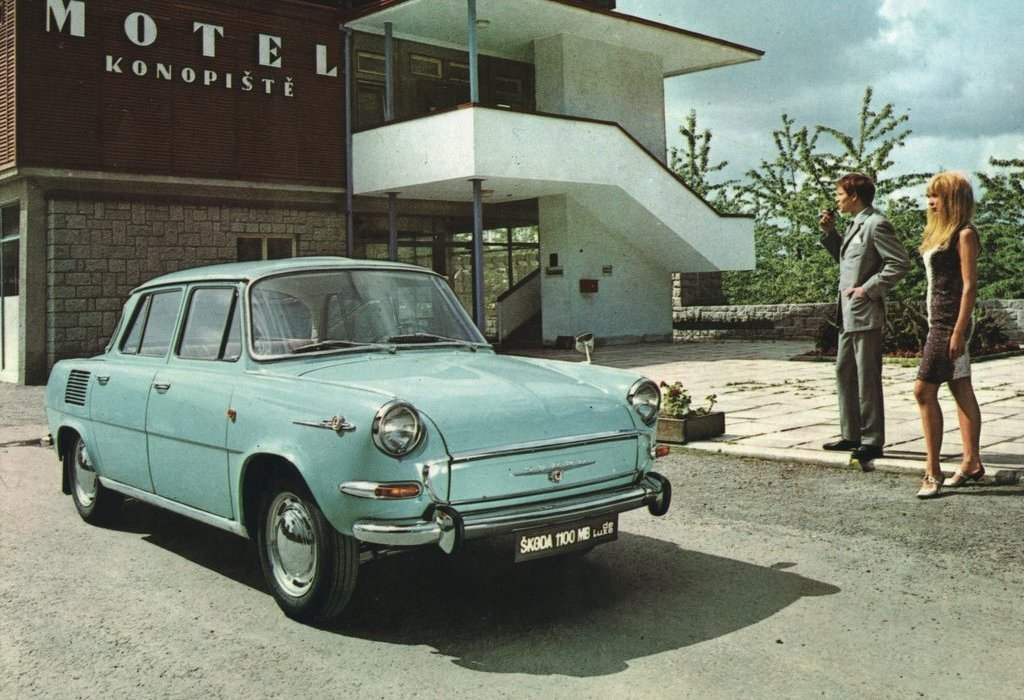 SKODA 1000MB — a brand new length of automobile rear-engined car
