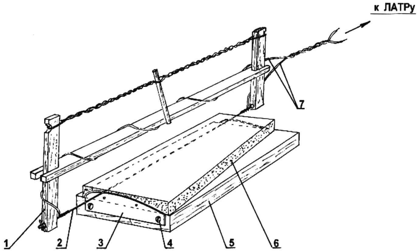Изготовление пенопластового крыла метательного планера