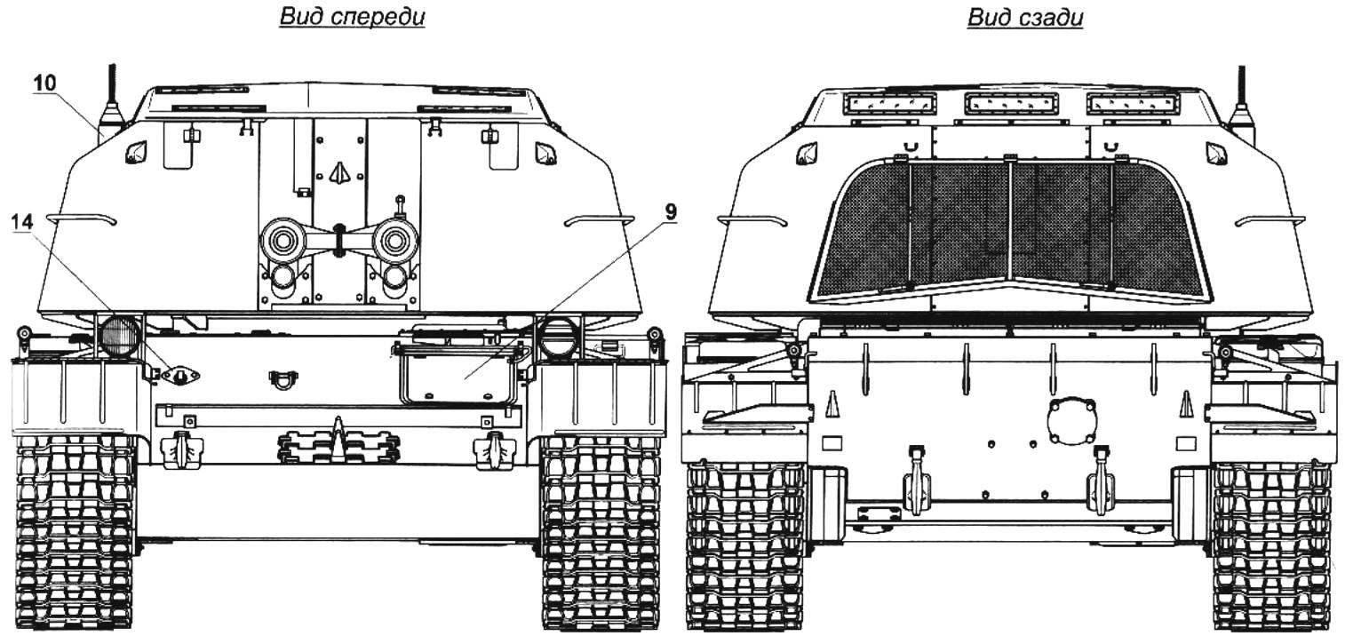 Зенитная самоходная установка ЗСУ-57-2