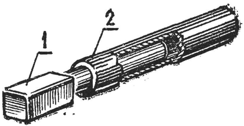 Рис. 6. Магнитный карандаш