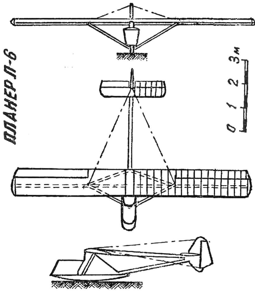 Fig. 5. Training glider designed by S. Luchina.