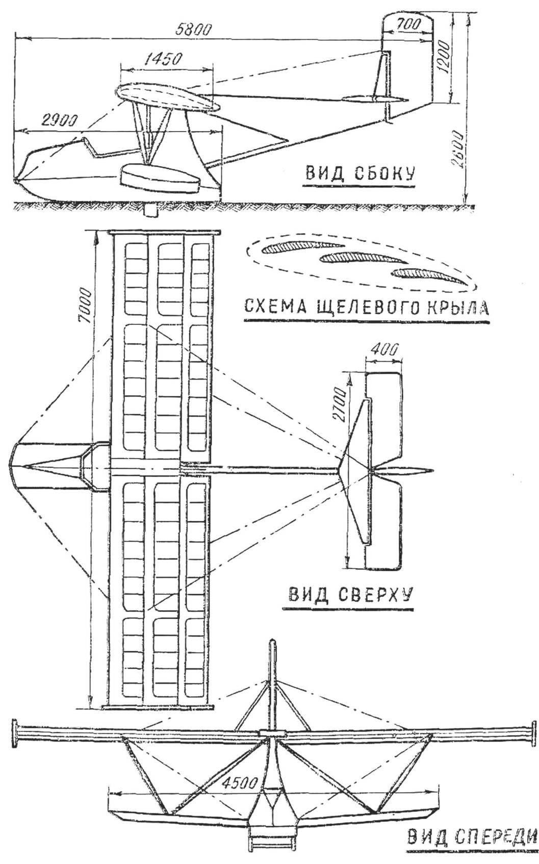 Fig. 1. Hydroplanes BRO-17U