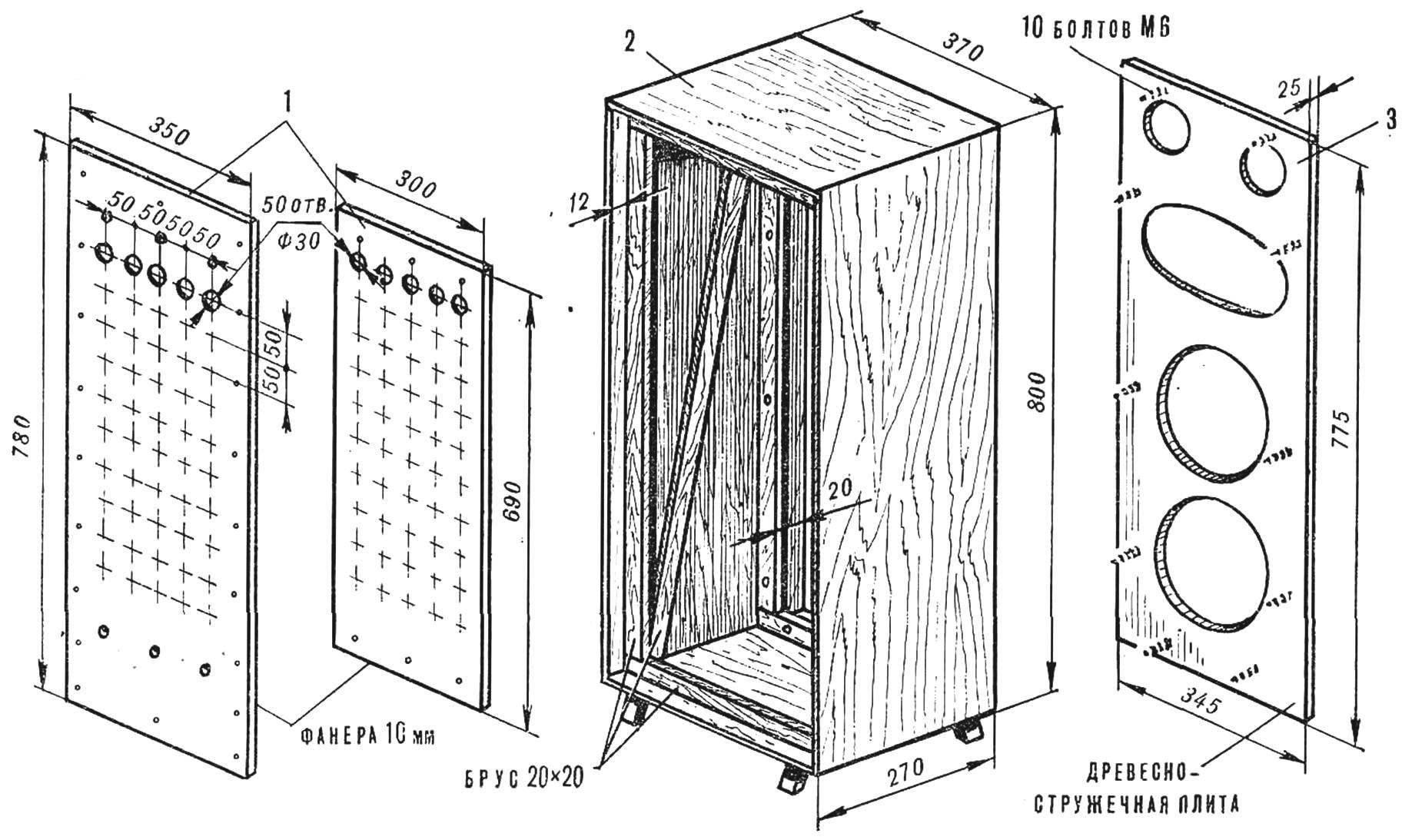 Fig. 1. Column design