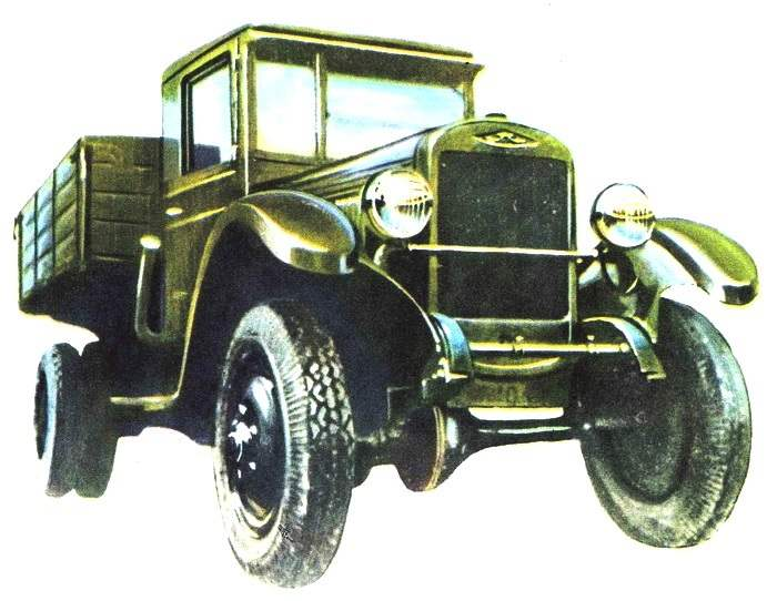 ЗиС-32 выпуска 1941 года двухосный полноприводной автомобиль на базе «трехтонки» ЗиС-5