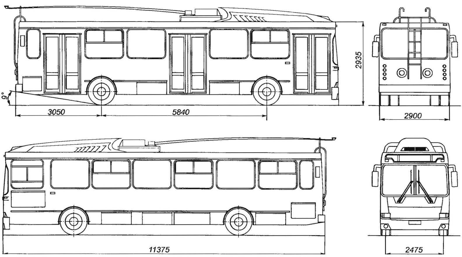 Троллейбус МТРЗ-5279 «Русь»