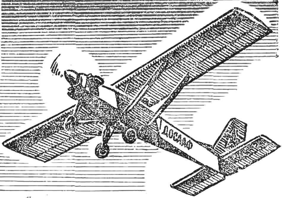 «ОСА» — одноместный цельнометаллический микросамолет советских конструкторов К. Лявина и В. Кораблева.