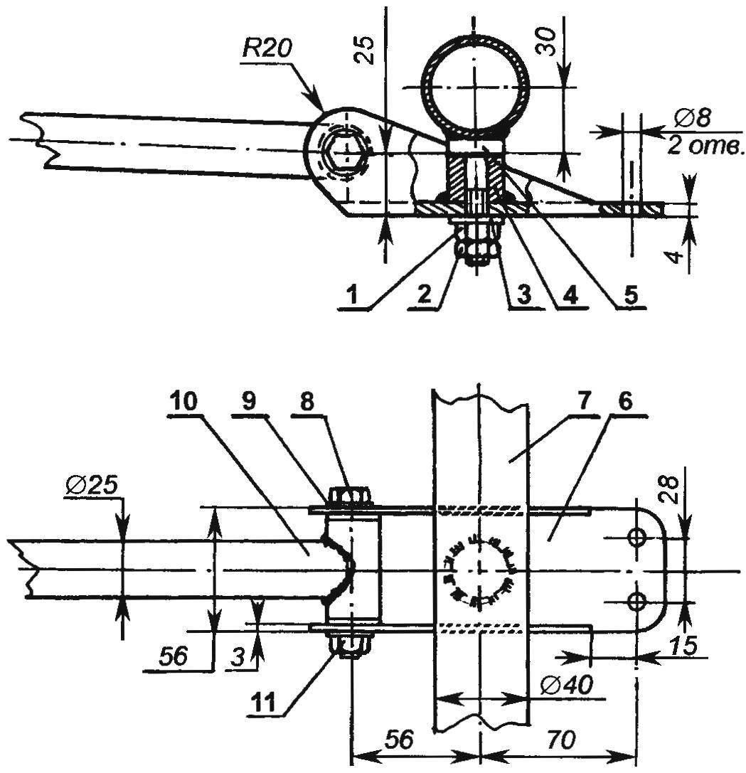 Буксирно-рулевое устройство