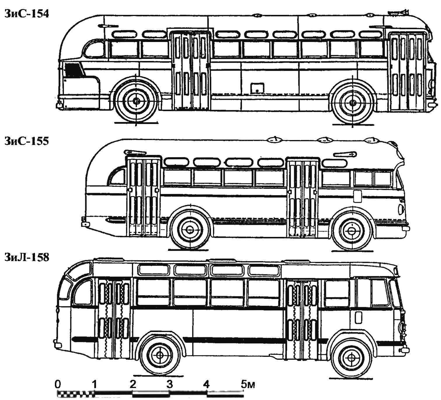 Автобусы 1950-х годов