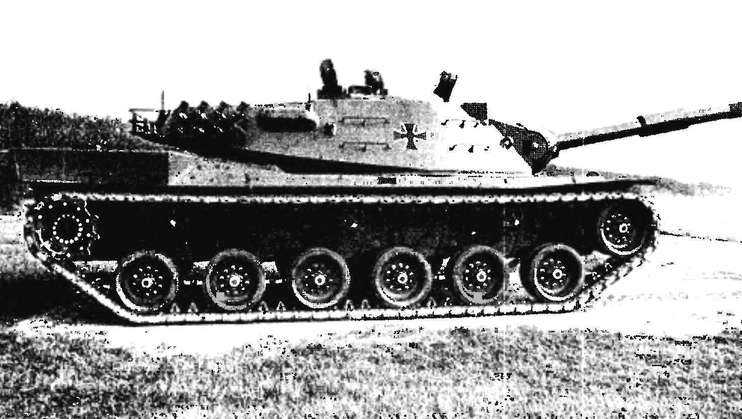 The West German version of the tank, MBT-70