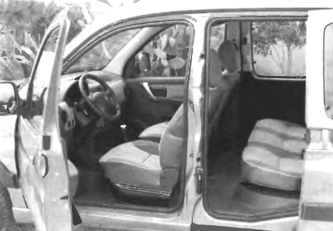 Салон автомобиля PEUGEOT PARTNER