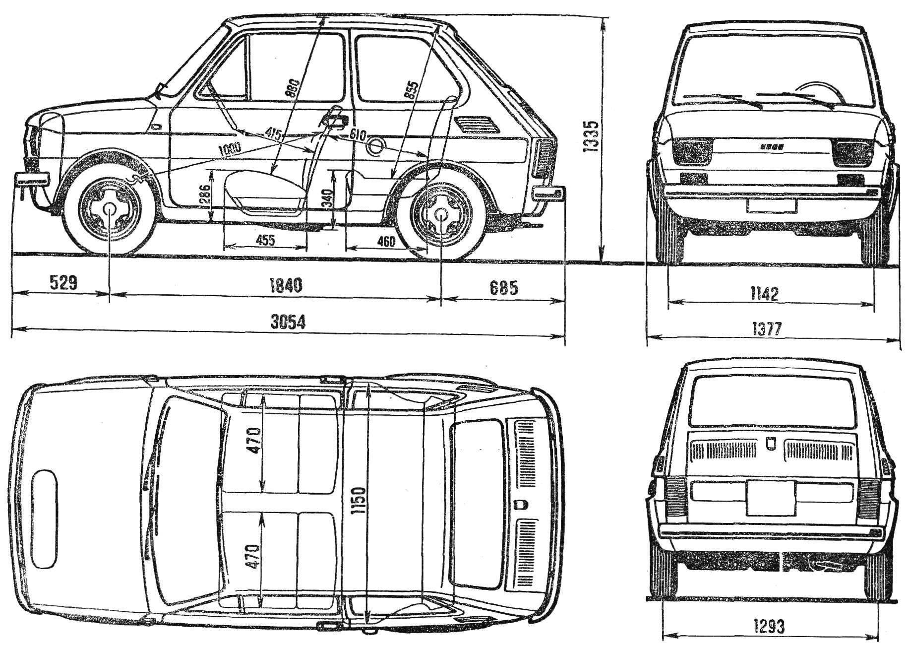 Автомобиль «Фиат-126П»